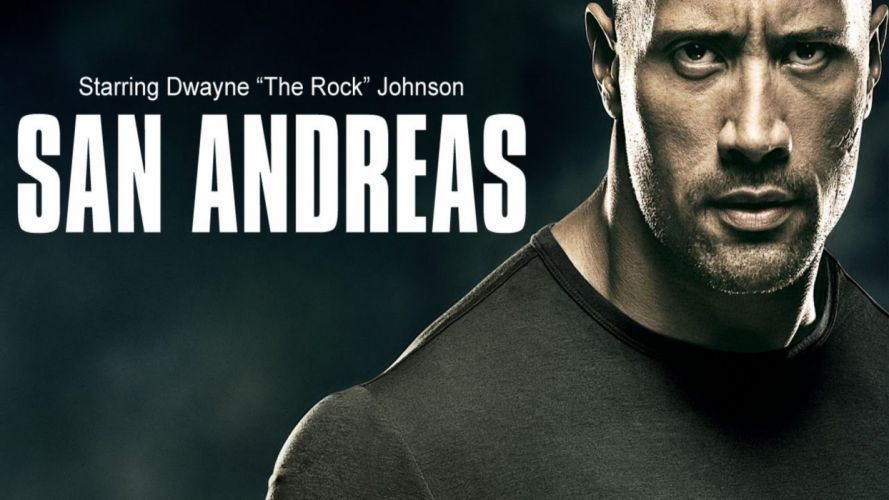 SAN ANDREAS action earthquake disaster adventure apocalyptic rock wwe drama thriller poster wallpaper