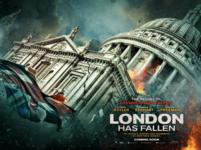 LONDON HAS FALLEN actionm crime thriller police 1lhf poster wallpaper
