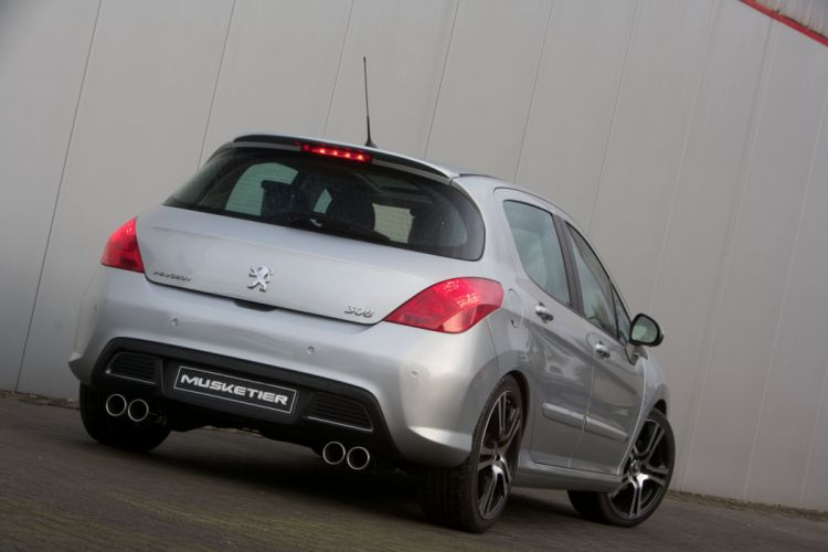 Musketier Peugeot 308 cars modified wallpaper