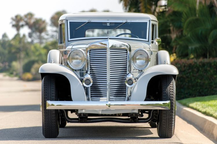 1933 Marmon Sixteen Victoria Coupe LeBaron classic cars wallpaper