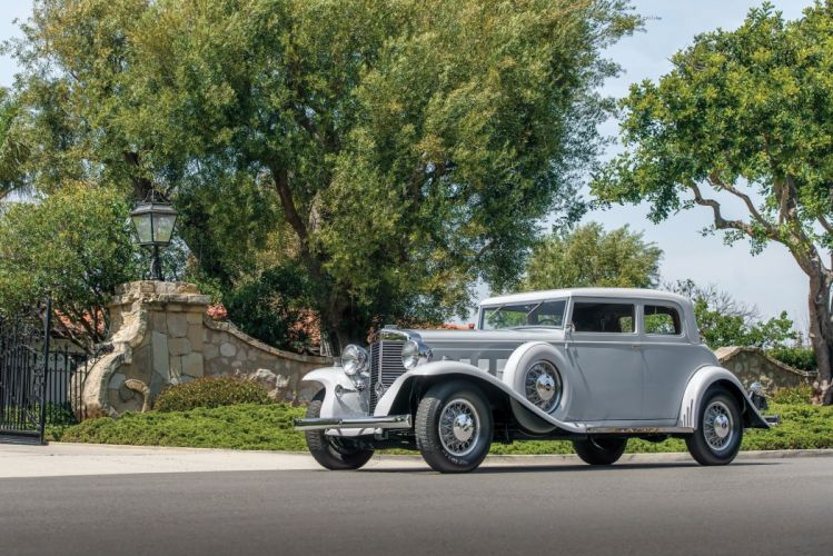 1933 Marmon Sixteen Victoria Coupe LeBaron classic cars wallpaper