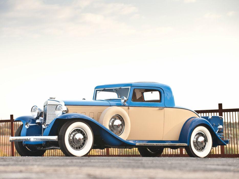1931 Marmon Sixteen 2-passenger Coupe cars classic wallpaper