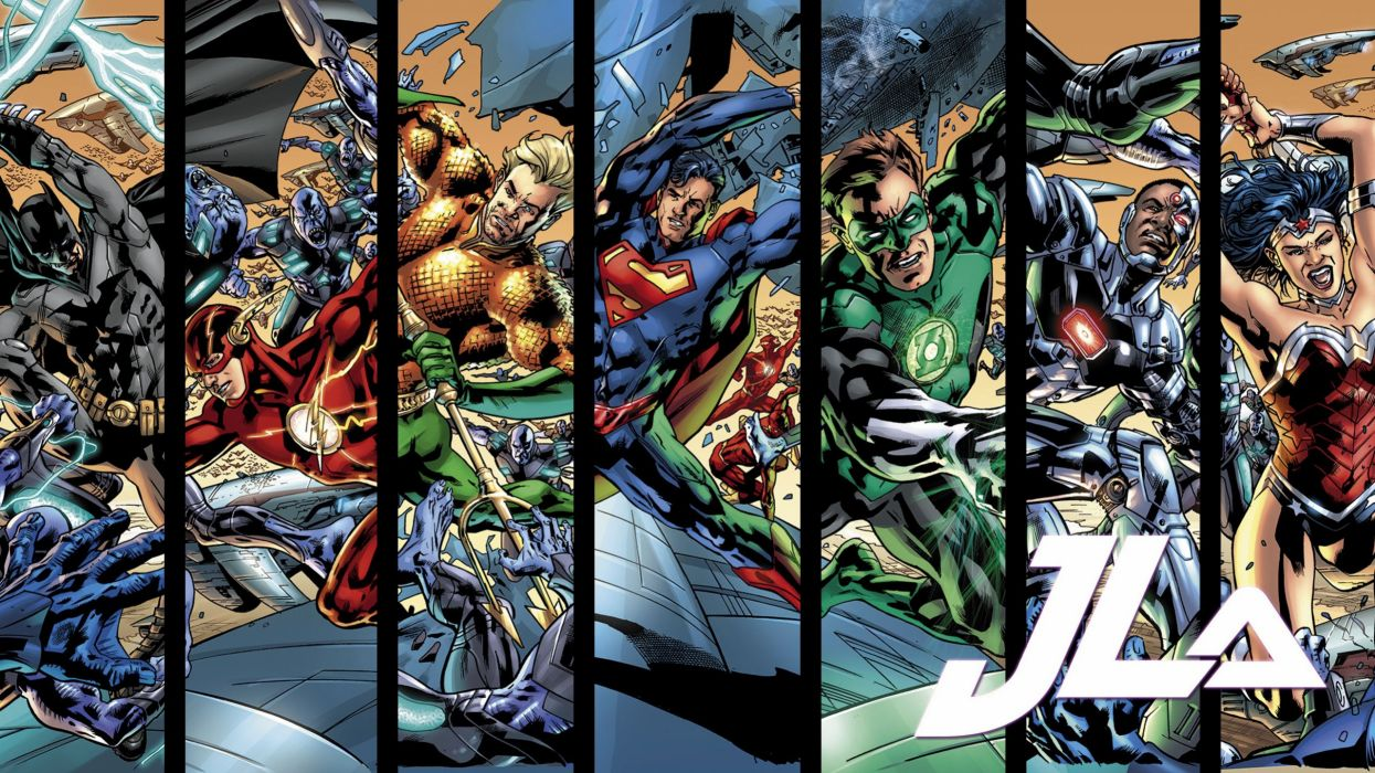 New Justice League Of America Wallpaper 2560x1440 728347