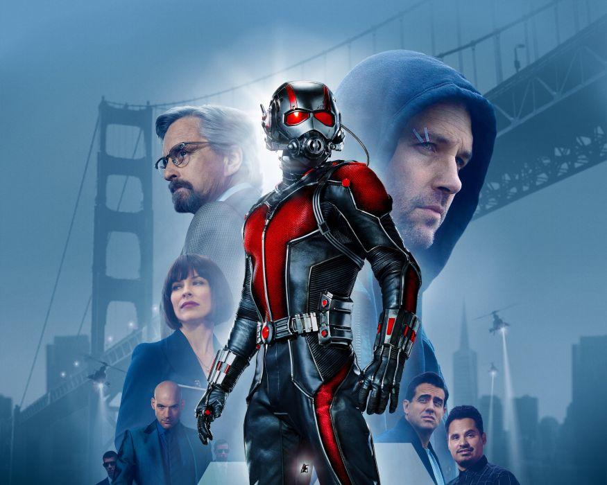 ANT-MAN superhero action marvel comics disney hero 1antman warrior ant man poster wallpaper