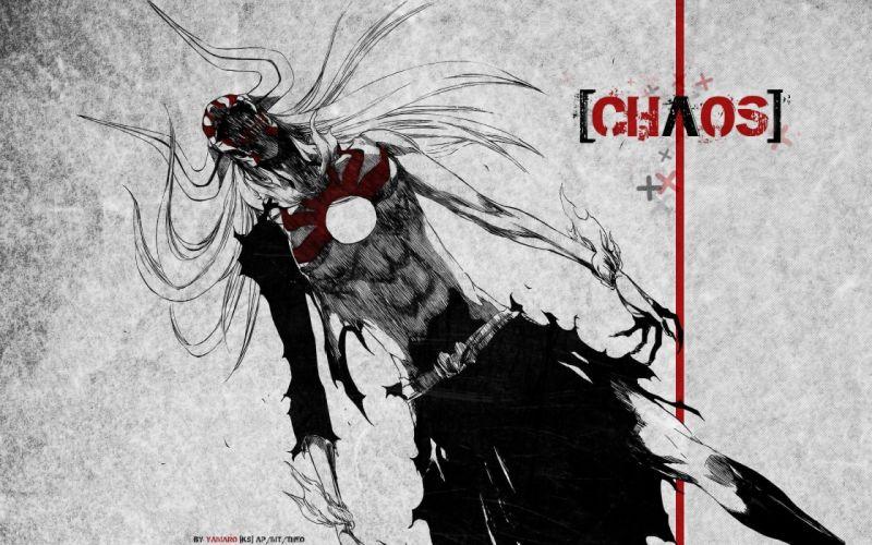 anime series character Bleach Kurosaki Ichigo Chaos wallpaper
