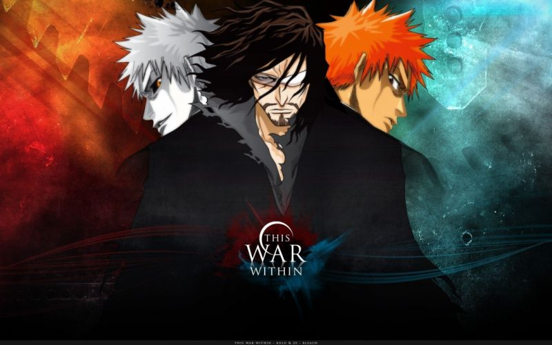 anime series character Bleach This War Within wallpaper