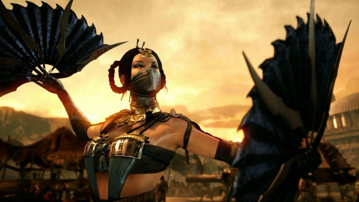 MORTAL KOMBAT X fighting action battle arena warrior 1mkx fantasy artwork wallpaper