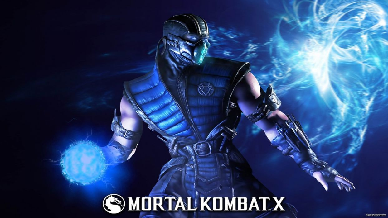 MORTAL KOMBAT X fighting action battle arena warrior 1mkx fantasy artwork poster wallpaper