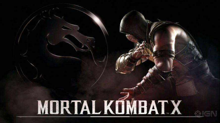 MORTAL KOMBAT X fighting action battle arena warrior 1mkx fantasy artwork poster wallpaper