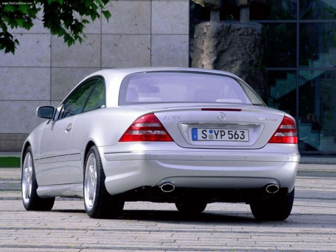 Mercedes-Benz CL55 AMG cars coupe 2000 wallpaper