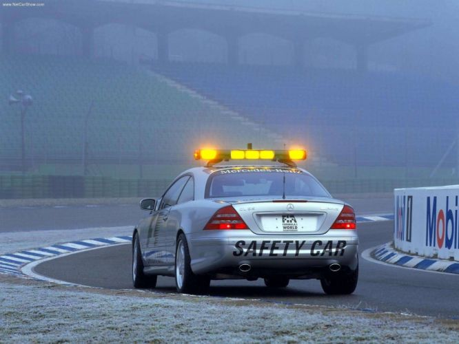 Mercedes-Benz CL55 AMG cars F1-Safety Car coupe 2000 wallpaper
