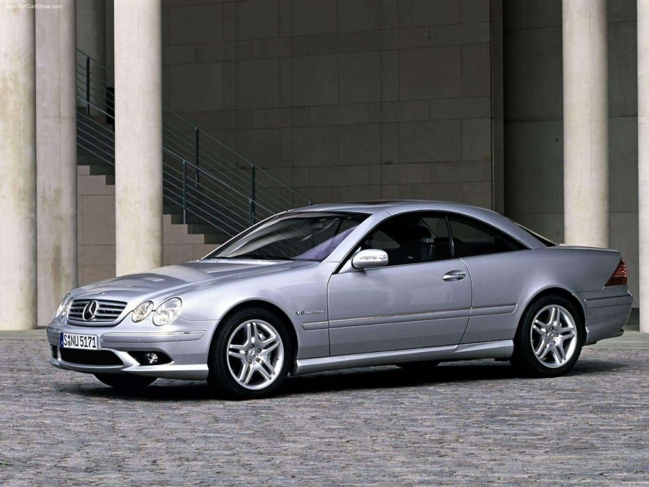Mercedes-Benz CL55 AMG cars coupe 2003 wallpaper