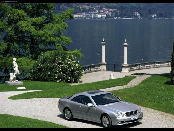 Mercedes-Benz CL600 cars coupe 2003 wallpaper