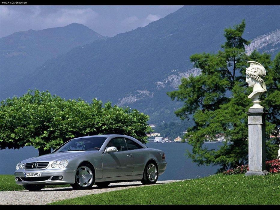 Mercedes-Benz CL600 cars coupe 2003 wallpaper