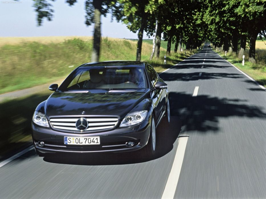 Mercedes-Benz CL500 cars coupe 2007 wallpaper