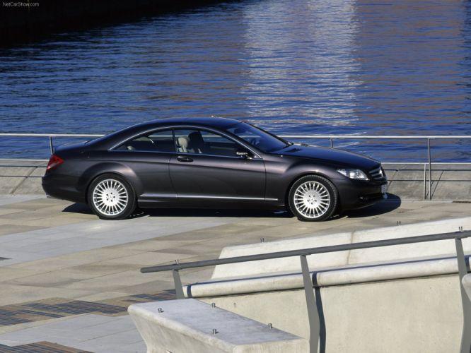 Mercedes-Benz CL500 cars coupe 2007 wallpaper