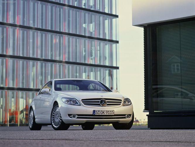 Mercedes-Benz CL600 cars coupe 2007 wallpaper
