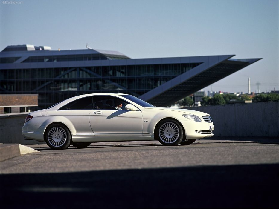 Mercedes-Benz CL600 cars coupe 2007 wallpaper