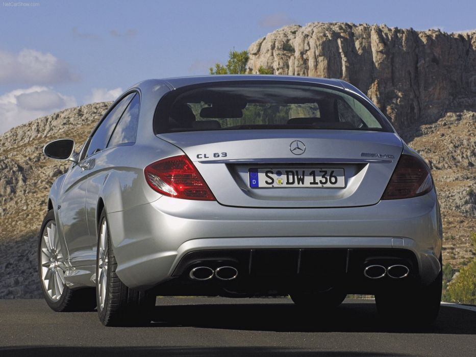 Mercedes-Benz CL63 amg cars coupe 2007 wallpaper