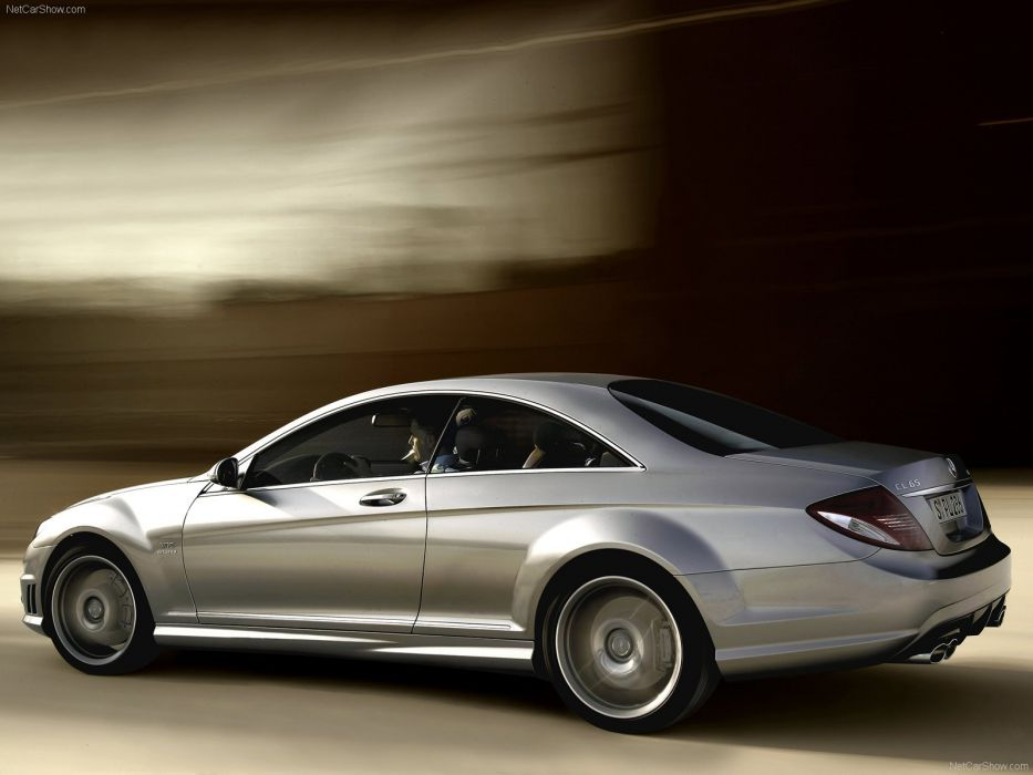 Mercedes-Benz CL65 amg cars coupe 2008 wallpaper