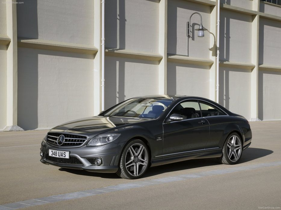 Mercedes-Benz CL65 amg uk-version cars coupe 2008 wallpaper