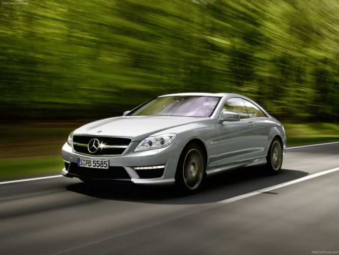 Mercedes-Benz CL63 amg cars coupe 2011 wallpaper