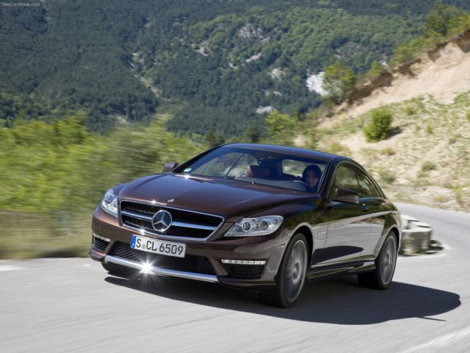 Mercedes-Benz CL65 amg cars coupe 2011 wallpaper