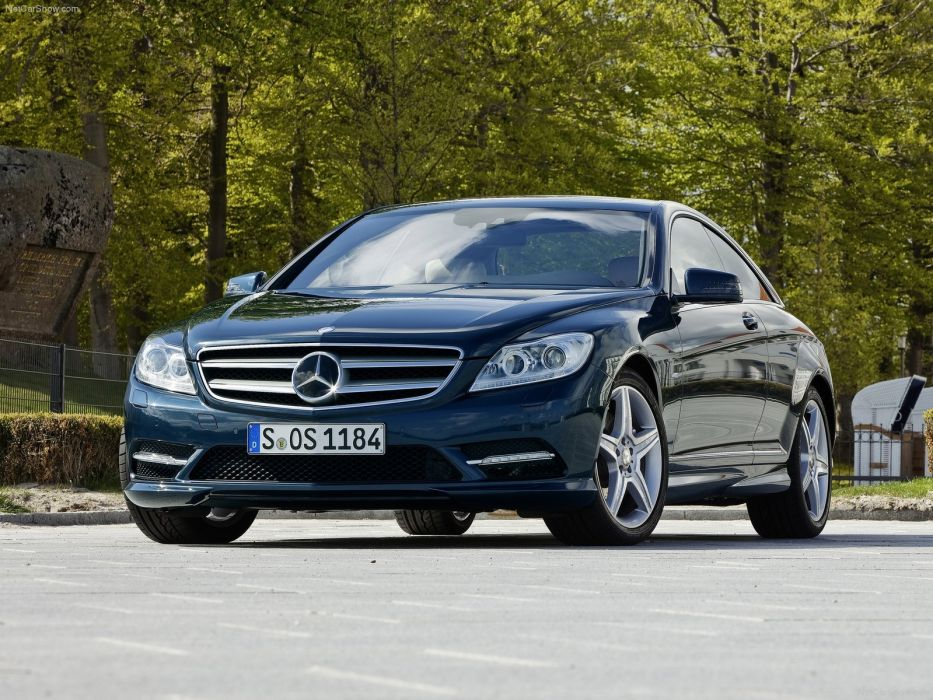 Mercedes-Benz CL500 cars coupe 2011 wallpaper