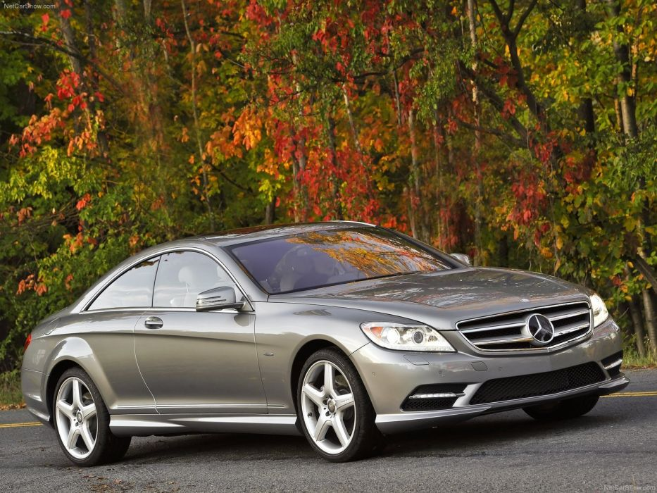 Mercedes-Benz CL550 cars coupe 2011 wallpaper