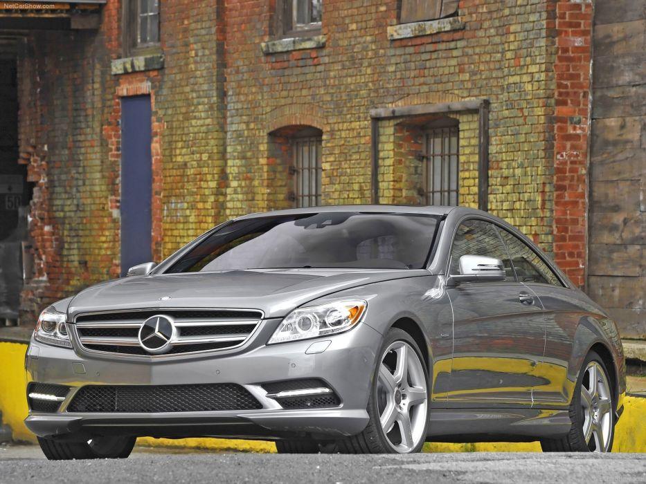 Mercedes-Benz CL550 cars coupe 2011 wallpaper