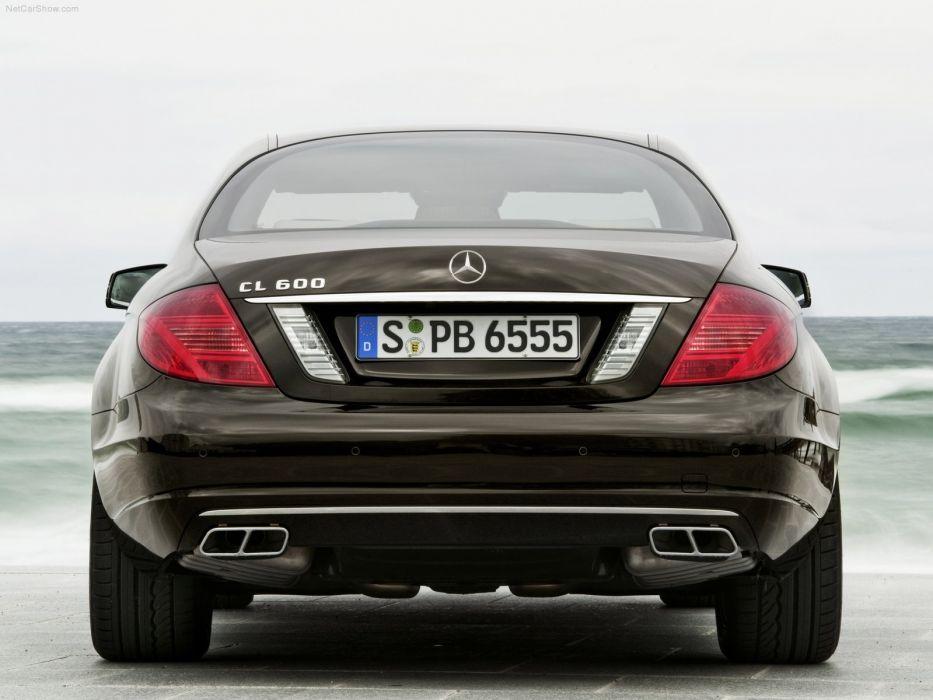 Mercedes-Benz CL600 cars coupe 2011 wallpaper
