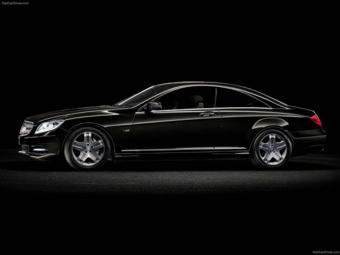 Mercedes-Benz CL600 cars coupe 2011 wallpaper