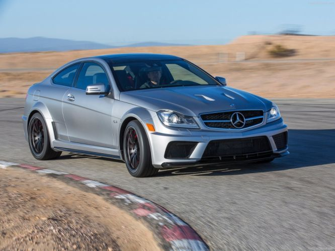 Mercedes-Benz C63 AMG Coupe Black Series cars 2012 wallpaper