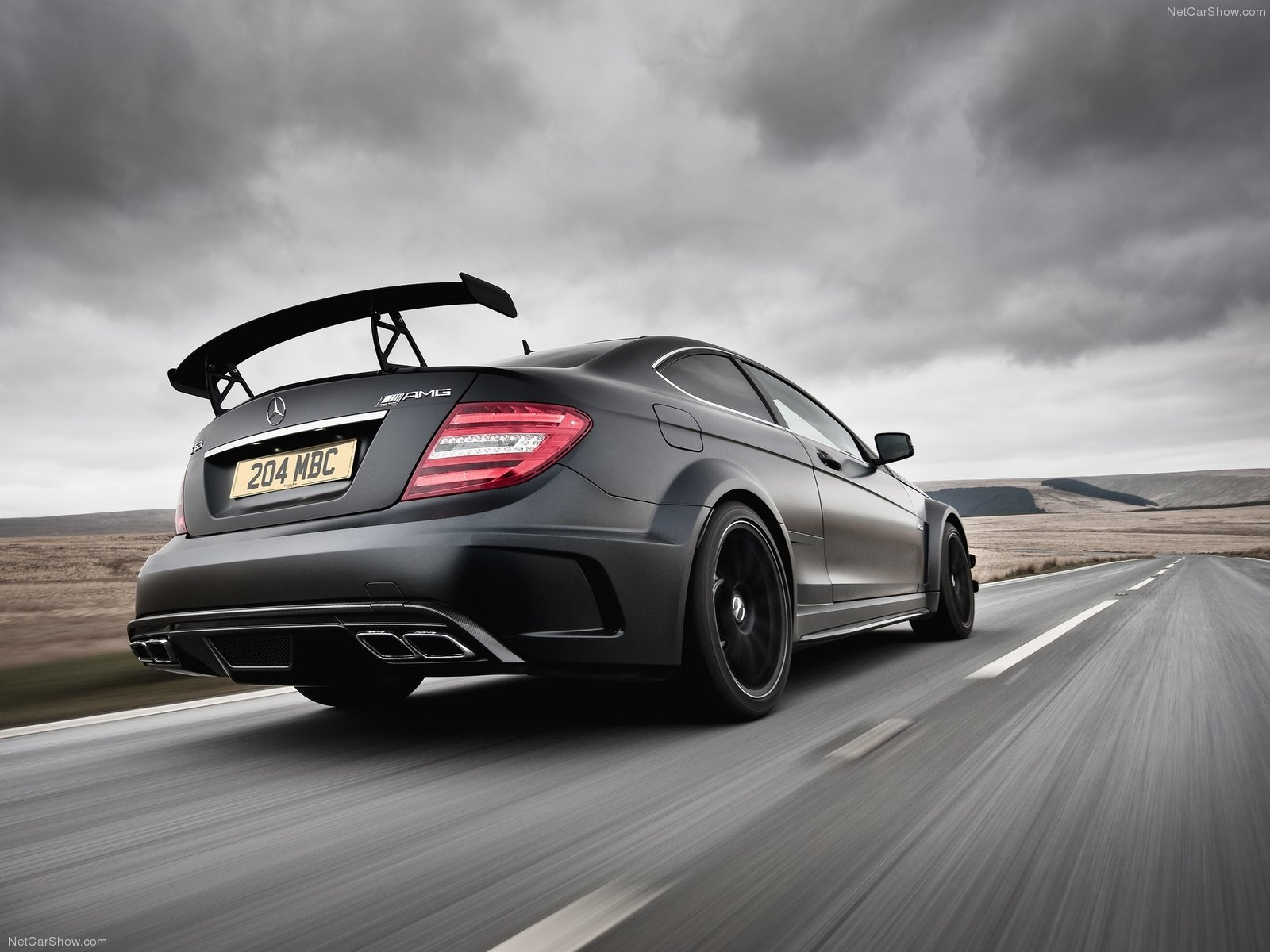 mercedes benz c63 amg coupe black series cars 2012 wallpaper 1600x1200 729236 wallpaperup - Mercedes Benz C63 Amg Black Series Wallpaper
