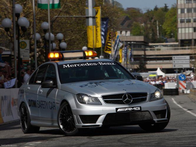 Mercedes-Benz C63 AMG DTM Safety Car 2011 wallpaper