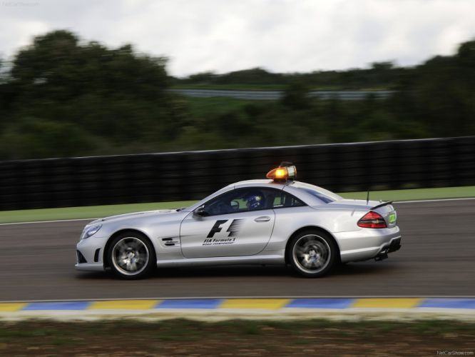 Mercedes-Benz SL63 AMG F1-Safety-Car 2009 wallpaper