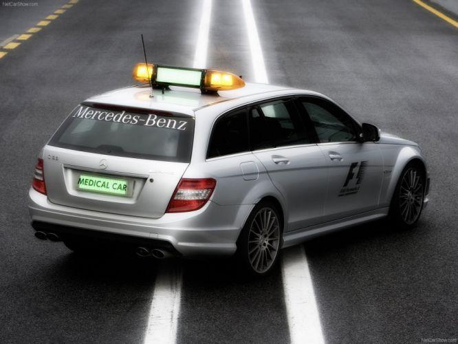 Mercedes-Benz C63 AMG Estate F1-Medical-Car 2009 wallpaper