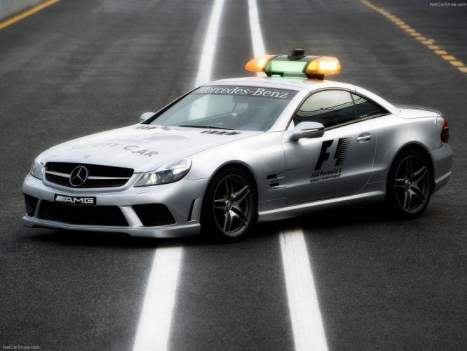 Mercedes-Benz SL-63 AMG F1-Safety-Car 2008 wallpaper