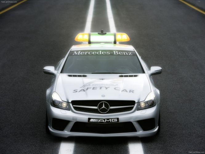 Mercedes-Benz SL-63 AMG F1-Safety-Car 2008 wallpaper