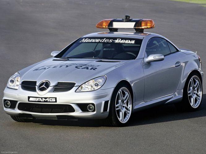 Mercedes-Benz SLK55 AMG F1-Safety-Car 2004 wallpaper