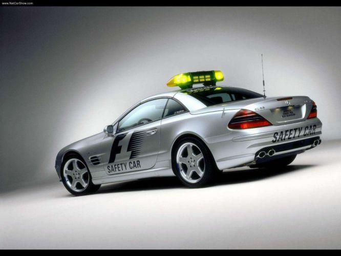 Mercedes-Benz SL55 AMG F1-Safety-Car 2003 wallpaper