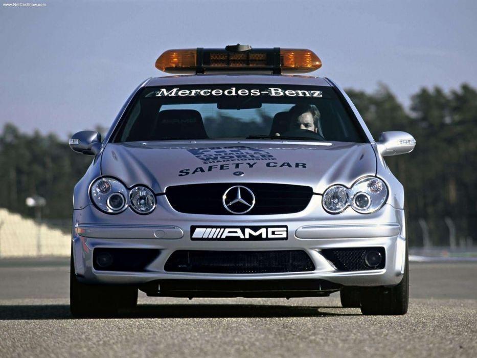 Mercedes-Benz SLK-55 AMG F1-Safety-Car 2003 wallpaper