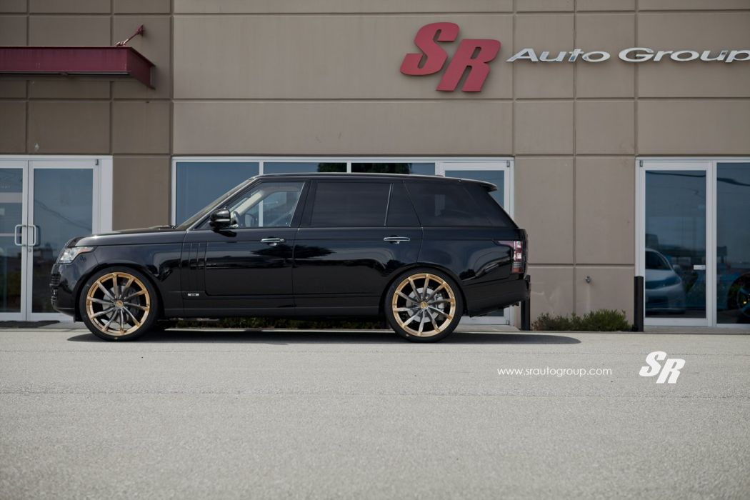 Range Rover black pur wheels modified wallpaper