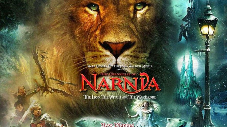 NARNIA adventure fantasy family series book 1narnia chronicles disney poster lion wallpaper