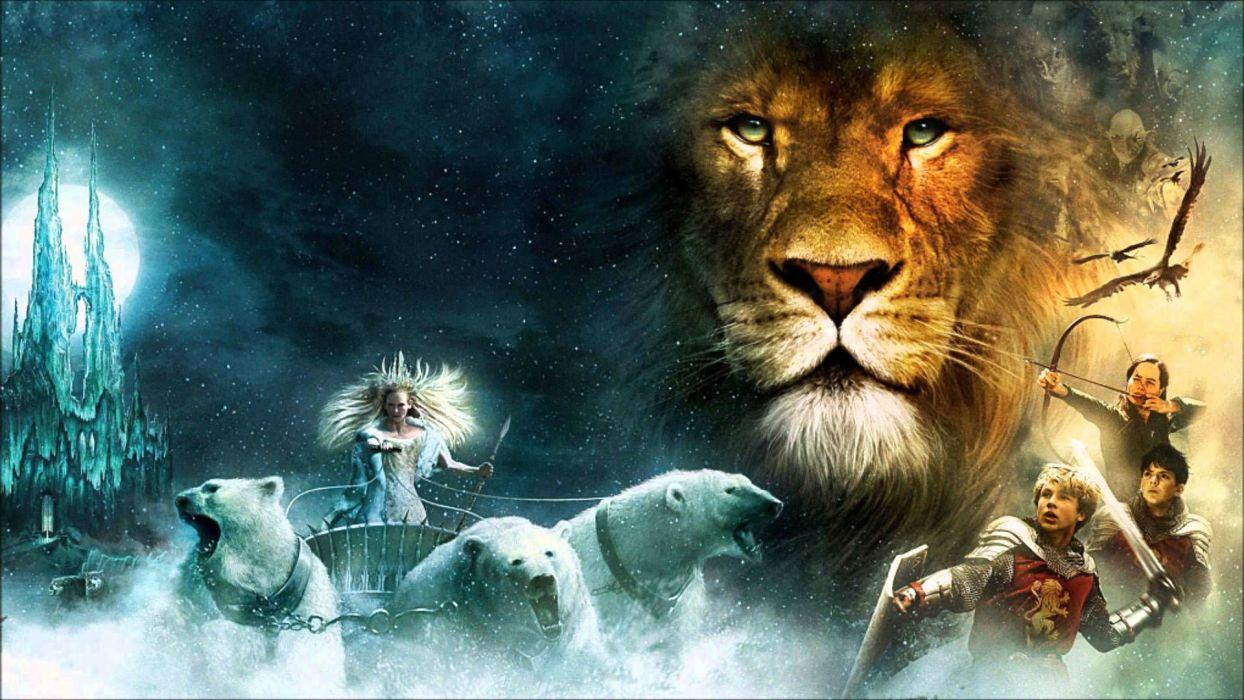 NARNIA adventure fantasy family series book 1narnia chronicles disney lion polar bear wallpaper