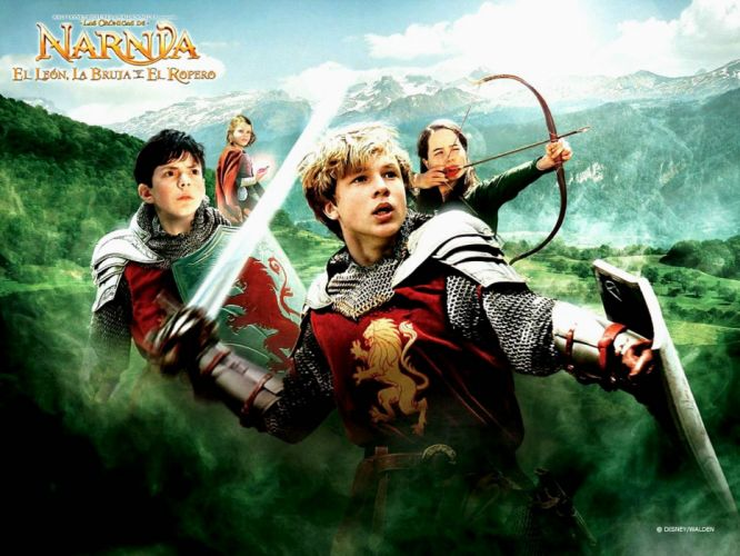 NARNIA adventure fantasy family series book 1narnia chronicles disney poster wallpaper