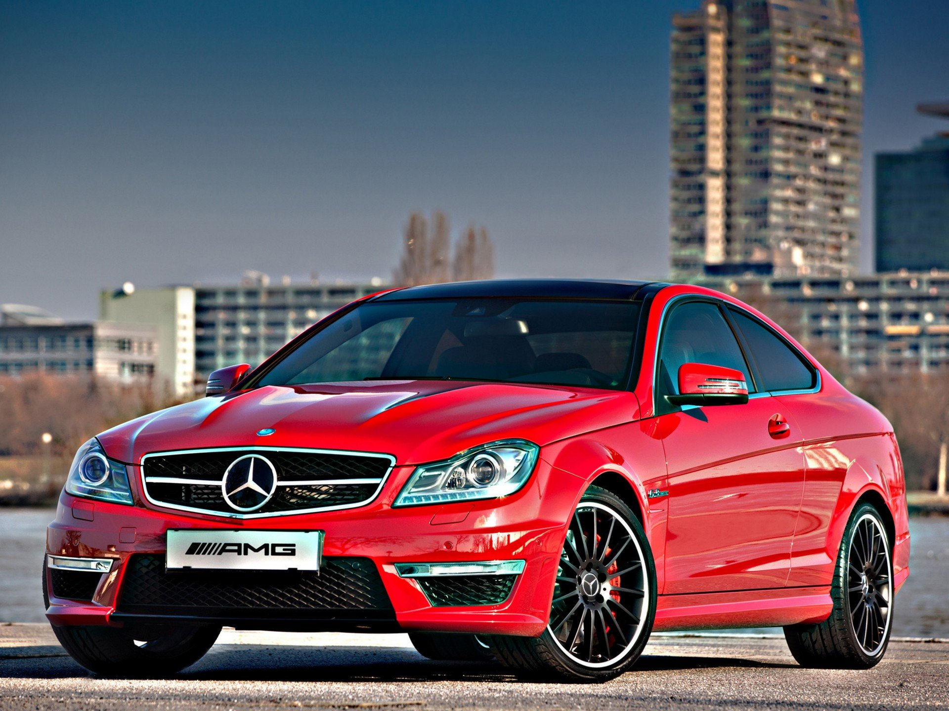 Mercedes benz c63 amg coupe austria edition c204 cars 2012 wallpaper 1920x1440 729569 - 2012 mercedes c63 amg coupe ...