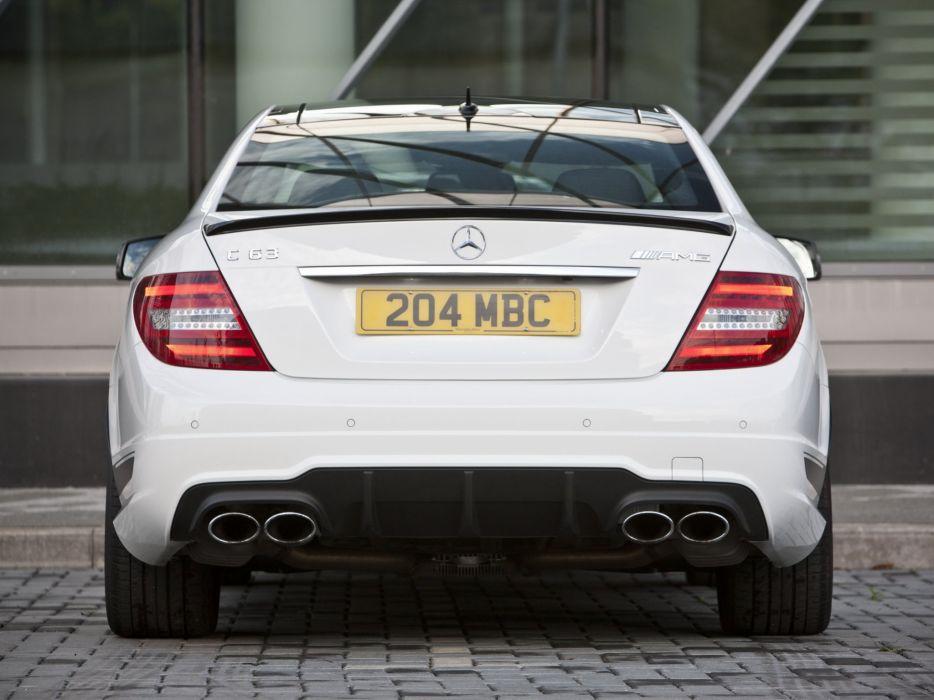 Mercedes-Benz C63 AMG Coupe Edition 507 UK-spec C204 cars 2013 wallpaper