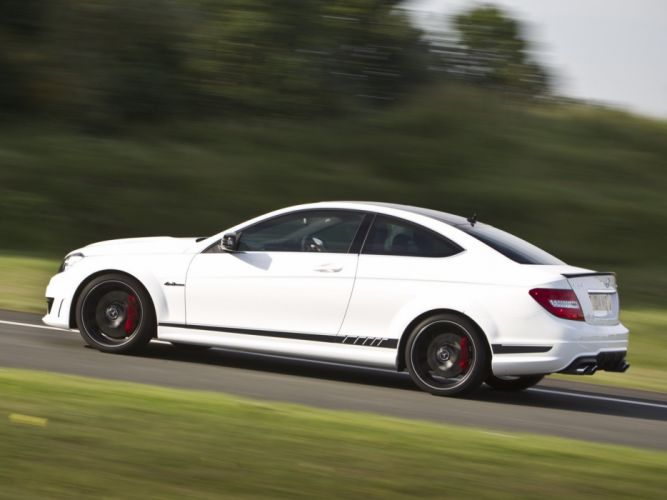 Mercedes-Benz C63 AMG Coupe Edition 507 UK-spec C204 cars 2013 wallpaper