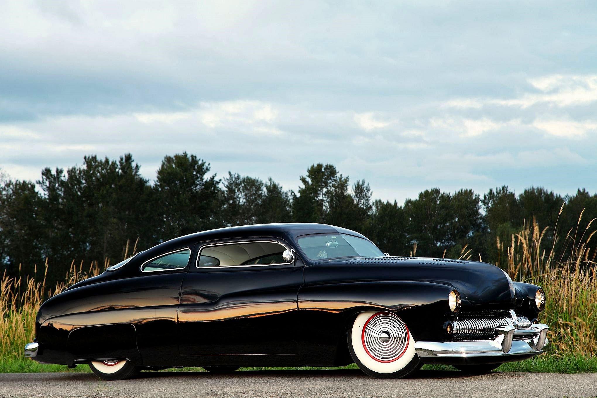 1950 Mercury CoupeHotrod Hot Rod Custom Kustom Old School